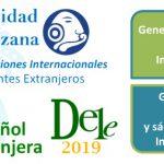 Banner diplomado DELE 2019 inscripciones