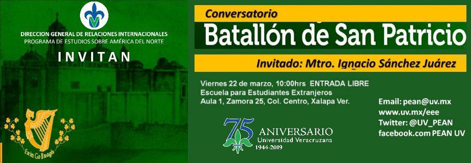 PEAN: Banner San Patricio 2019