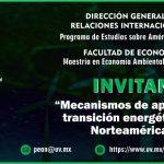 PEAN: Mecanismos de apoyo a la transición energética en Norteamérica