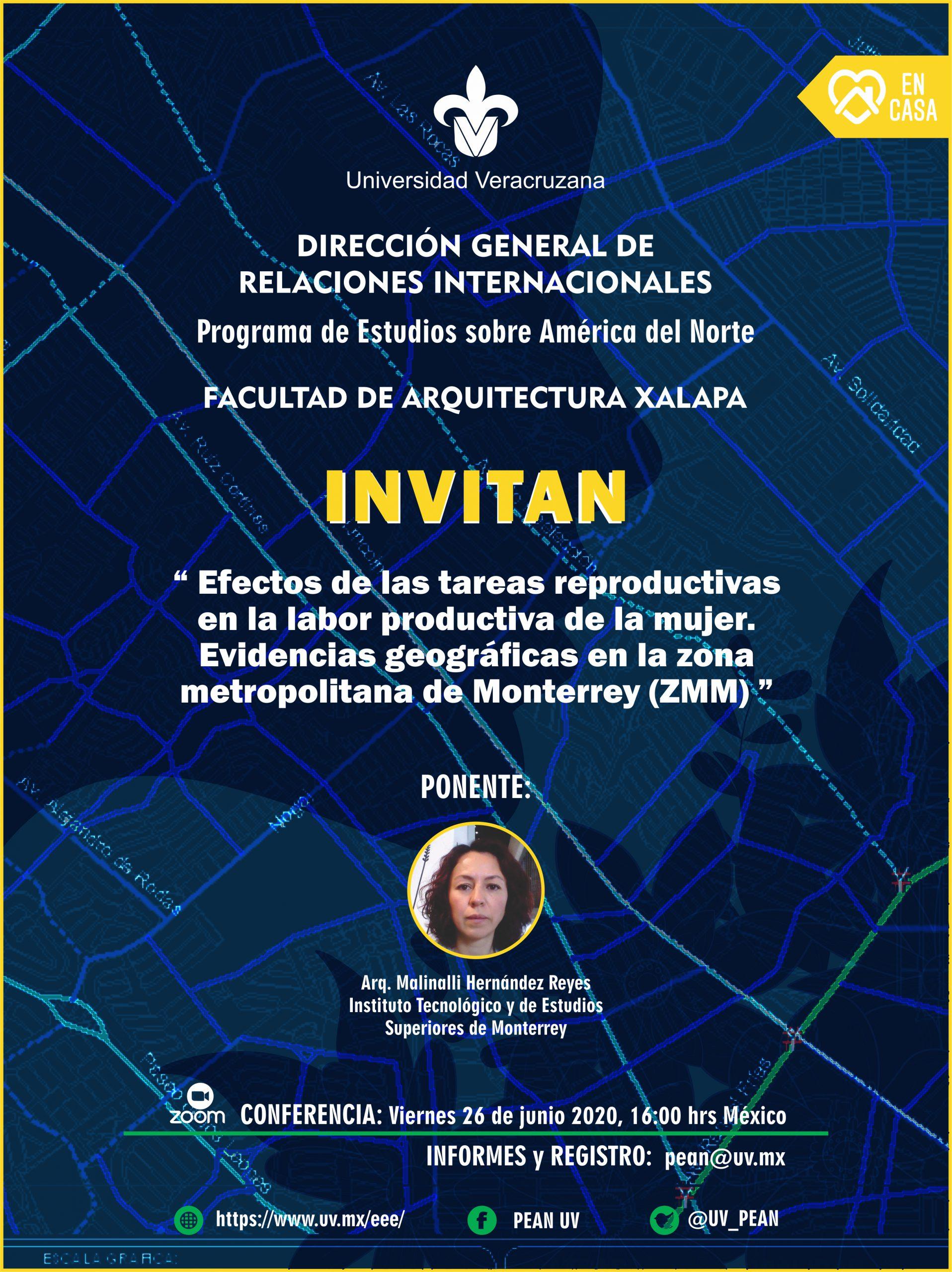 PEAN: Efectos de las tareas productivas en la labor productiva de la mujer. Evidencias geográficas en la zona metropolitana de Monterrey