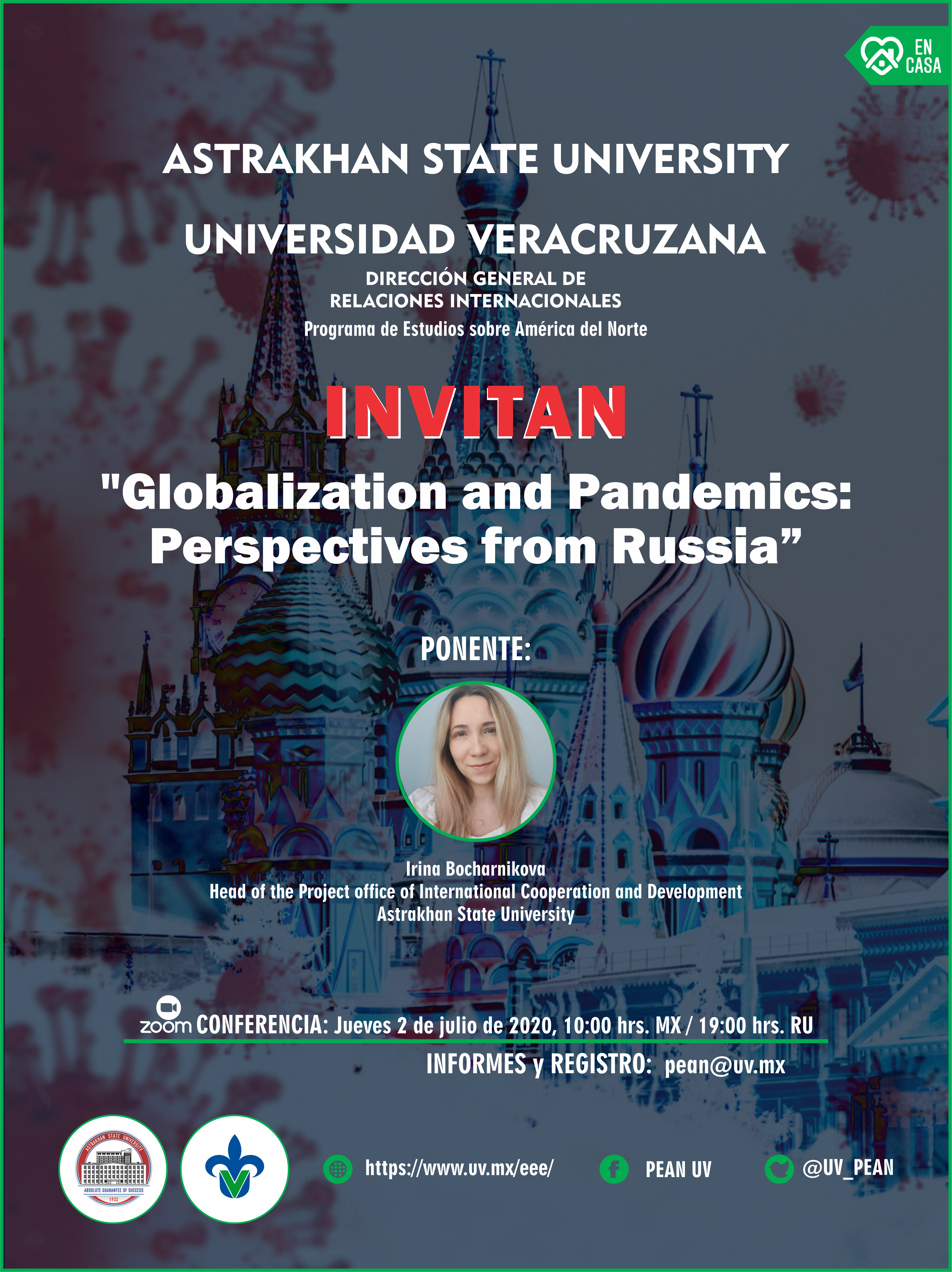 PEAN:Globalization and Pandemics: Perspectives from Russia