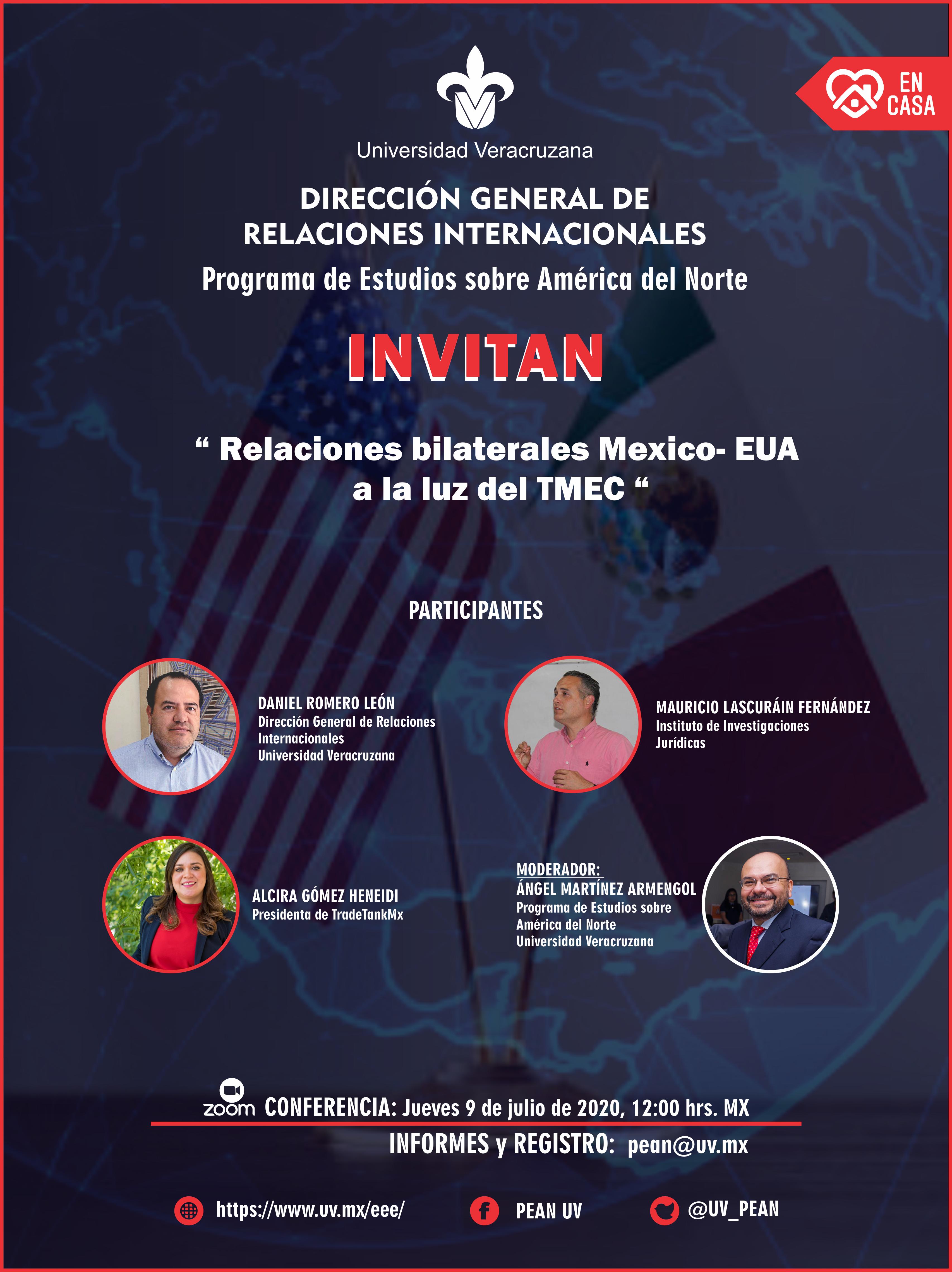 PEAN:México - EUA 2020