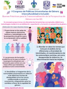 Buenas Prácticas para la Transversalización de la Perspectiva de Género en las IES