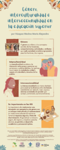 Por la igualdad de género con un enfoque intercultural y/o interseccional.