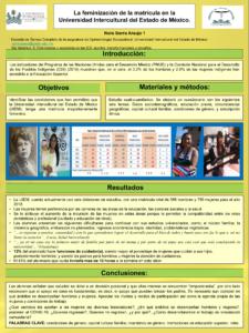 La feminización de la matrícula en la Universidad Intercultural del Estado de México