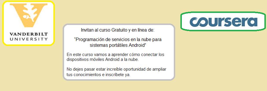 Programación de servicios en la nube para sistemas portátiles Android