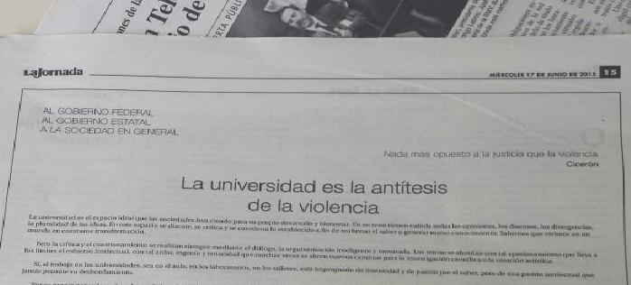 desplegado violencia UV2