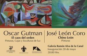 """""""El Caos del orden """" y """"Chino León pinturas"""""""