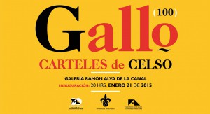 Gallo (100) Carteles de Celso