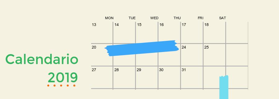 Uah Calendario Academico.Calendario De Eventos 2019 Facultad De Idiomas