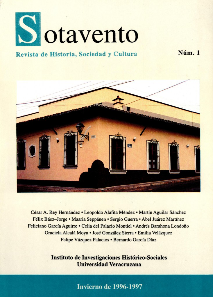 Sotavento. Revista de Historia, Sociedad y Cultura. Núm. 1
