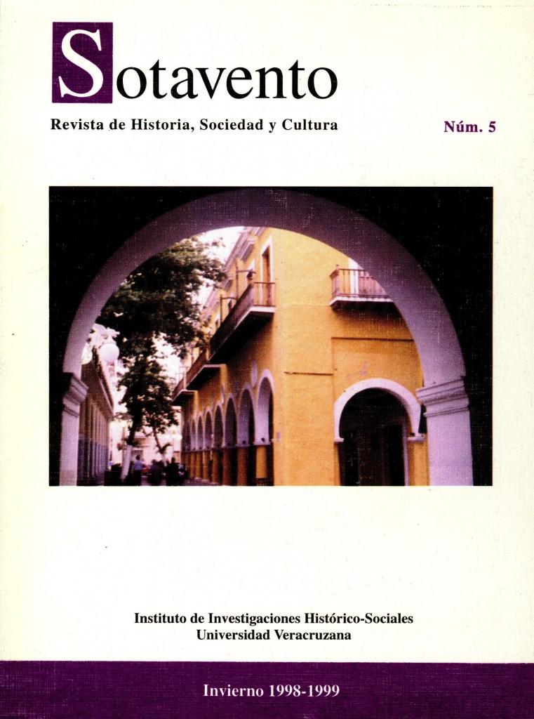 Sotavento. Revista de Historia, Sociedad y Cultura. Núm. 5