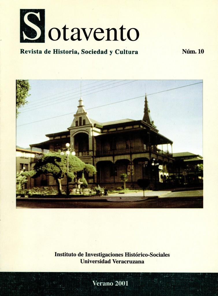 Sotavento. Revista de Historia, Sociedad y Cultura. Núm. 10