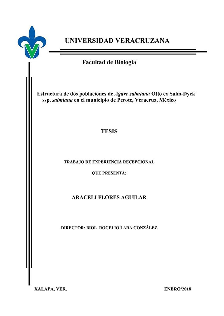 Tesis externas instituto de biotecnolog a y ecolog a for Universidades en xalapa