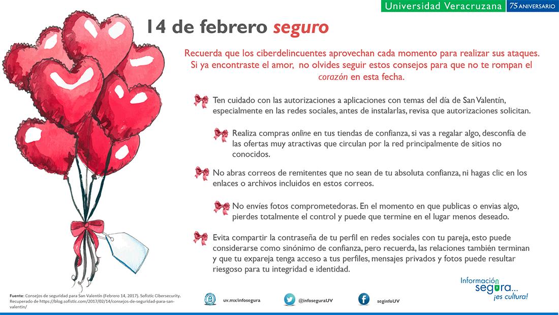 Infografia Feliz Dia De Amor Y La Amistad Que Tu Privacidad Este A Salvo Este 14 De Febrero Informacionseguraescultura Seguridad De La Informacion
