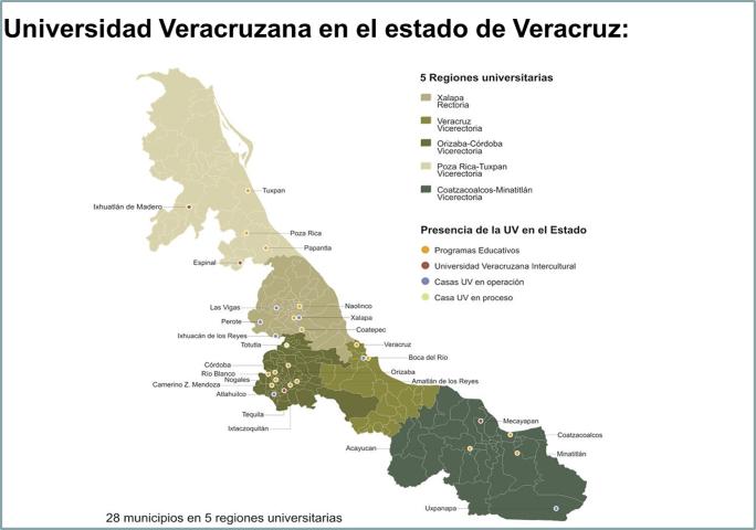 7 regiones de veracruz - Imagui