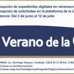 Convocatoria de Verano de la Ciencia de la Universidad Autónoma de San Luis Potosí 2019