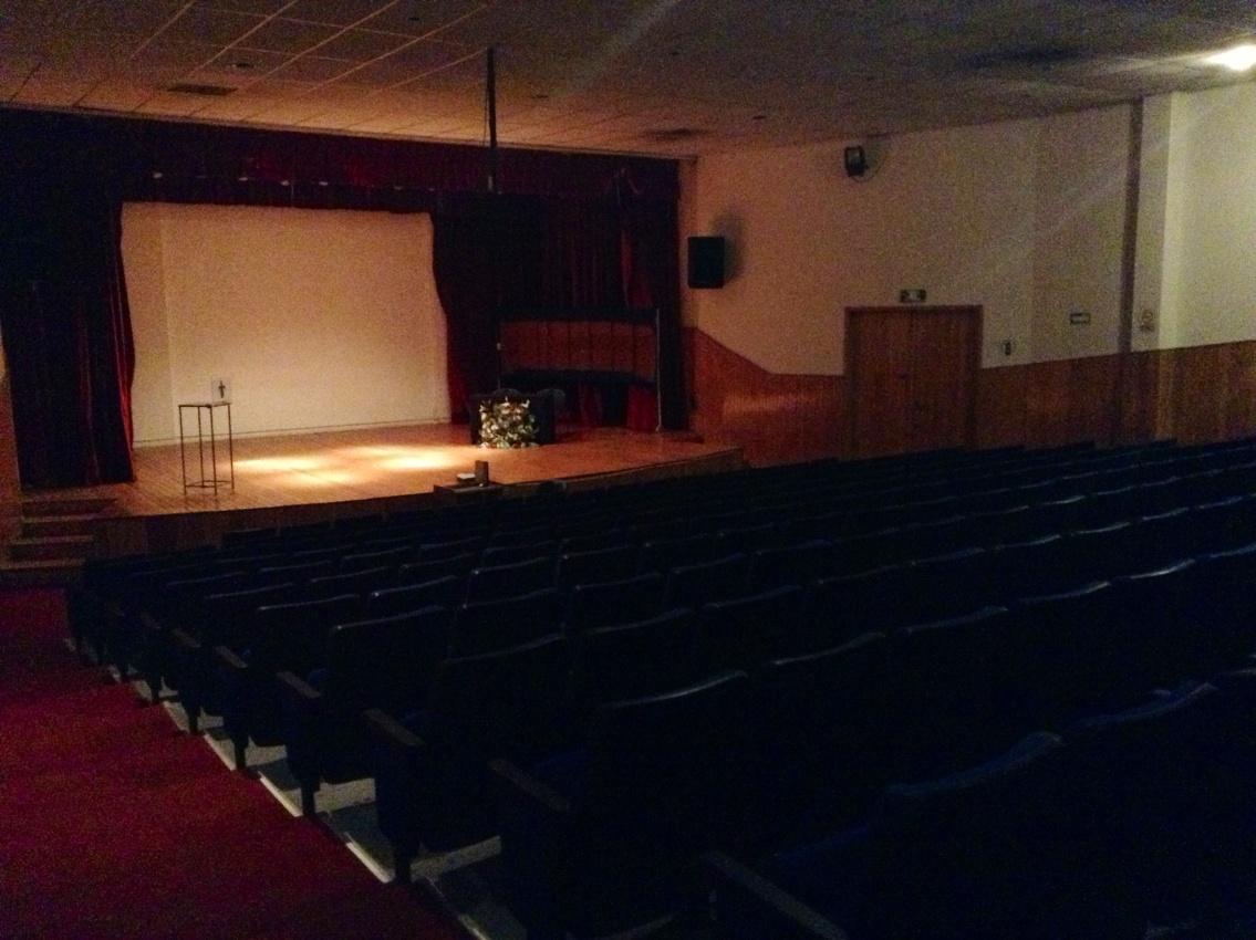 Interior del Auditorio
