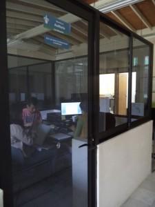Exterior del Cubículo de la Maestría en Auditoría