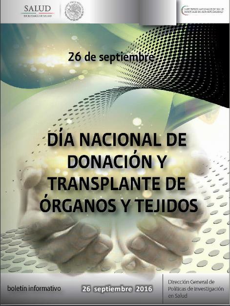 dia nacional de donacion y transplante