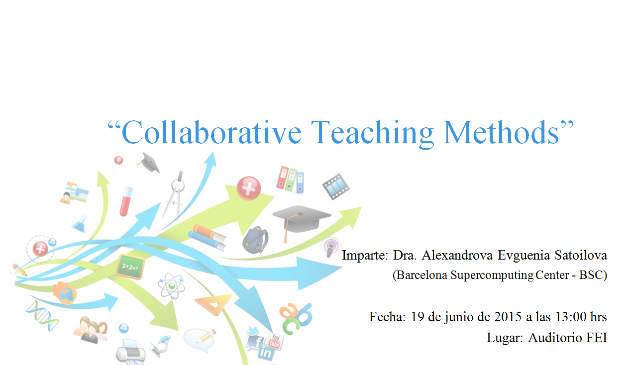 "Collaborative Teaching Methods ~ Conferencia ""collaborative teaching methods maestría en"