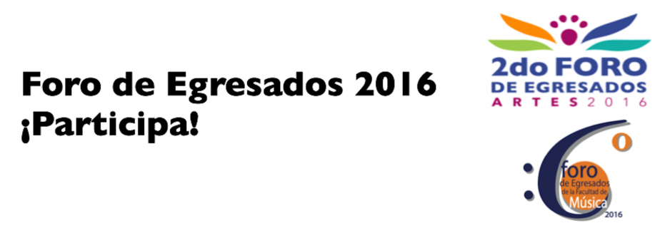 Foro de egresados 2016