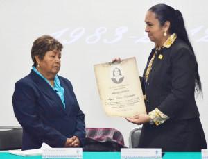 Agnes Torres-reconocimiento