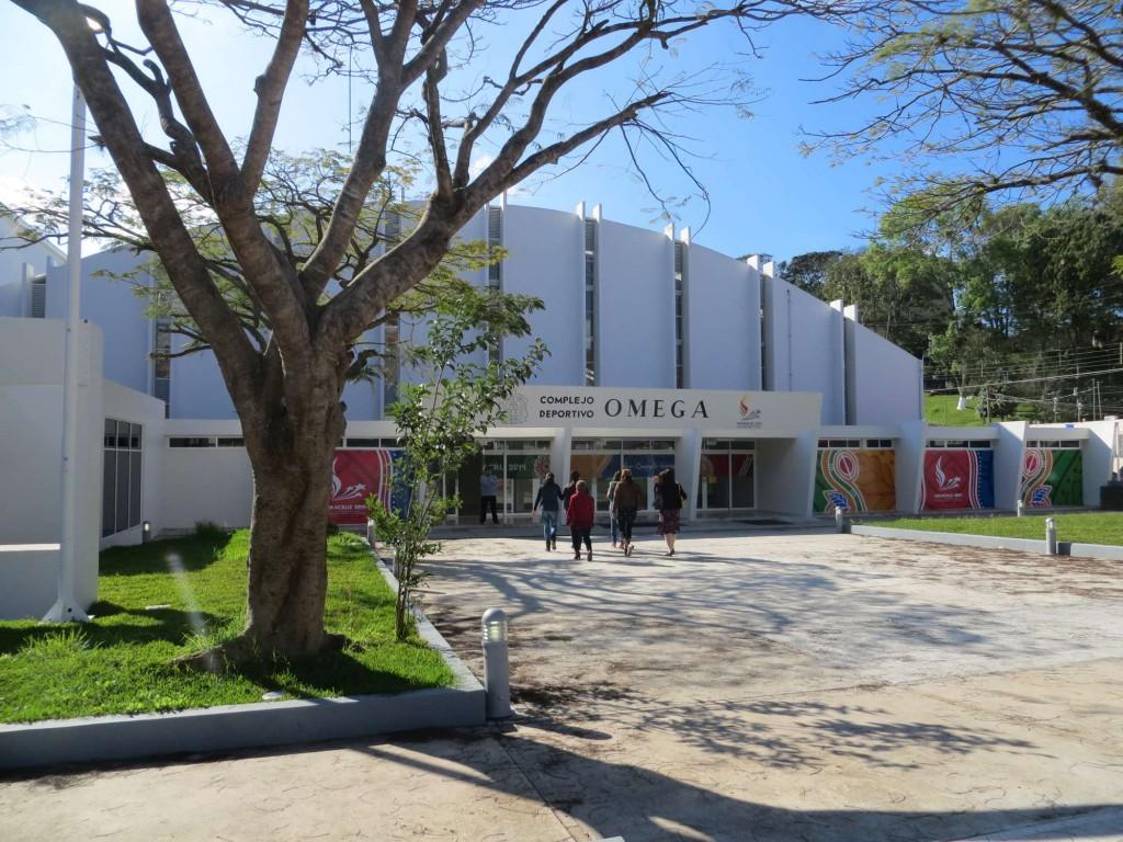 El Complejo Deportivo Omega, sede principal de esta fiesta editorial
