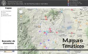 Portal Cartografico INAH-CONACULTA. Mapa tematico