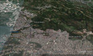 Localización del Parque Lineal Quetzalpan Sedeño. Centro del Edo. de Veracruz