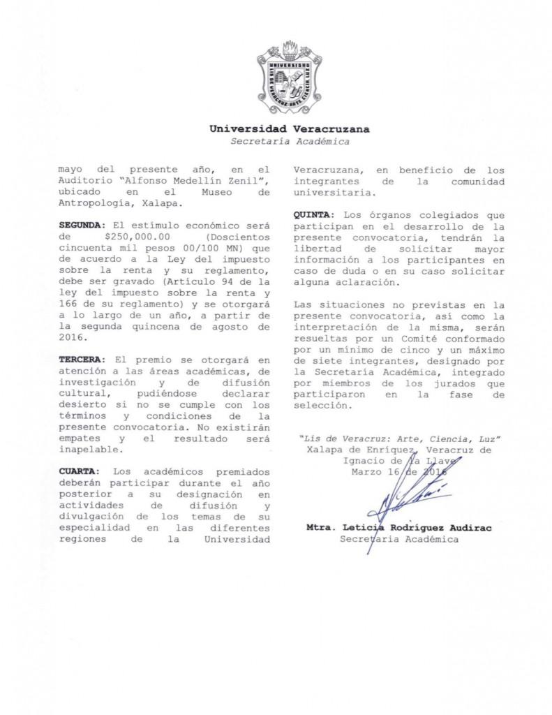 Convocatoria premio al decano 2016 4 791x1024 for Decano dela facultad de arquitectura