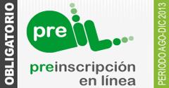 Pre Inscripcion en Linea