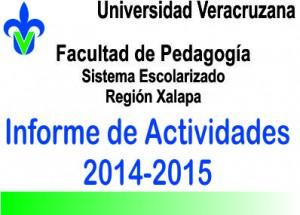Informe de Actividades 2014-2015