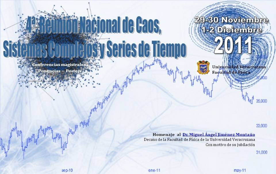 4a Reunión Nacional de Caos, Sistemas COmplejos y Series de Tiempo
