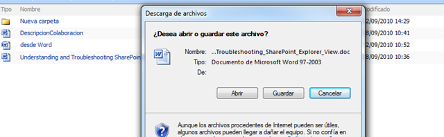 sharepoint login prompt when accessing files in a document library