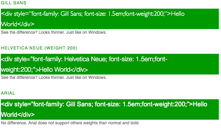 Stop fonts looking bold on Mac Browsers Mtro  Guillermo Humberto