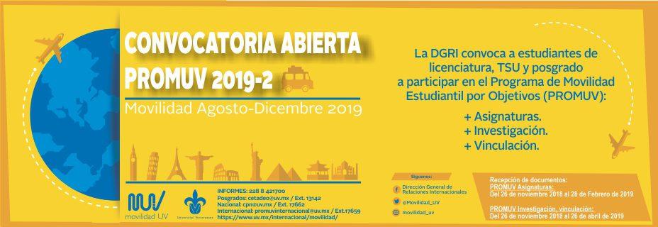 Uv Convocatoria 2019: Maestría En Manejo De Ecosistemas Marinos Y Costeros (PNPC