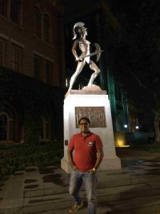 Fernando Rebolledo realiza una estancia de verano en la USC.