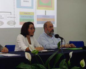 Elizabeth Ocampo Gómez y José Antonio Hernanz Moral.