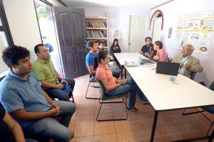 Ignacio Mora impartió seminario sobre el fracking y la sismicidad en el CCT
