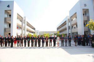 Los rectores y el secretario Nuño acompañaron a la Autónoma de Aguascalientes en la inauguración de instalaciones.