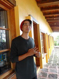 Juan David Moreno Díaz, alumno de la Pontificia Universidad Javeriana de Cali, Colombia.
