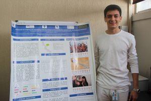 Eduardo Acosta Marí, estudiante del noveno semestre de la Facultad de Medicina.