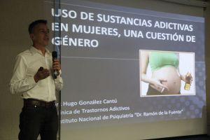 Hugo González Cantú, coordinador de la Clínica de Trastornos Adictivos del Instituto Nacional de Psiquiatría.