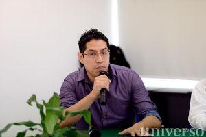 José Arturo Herrera Melo dictó conferencia sobre el materialismo filosófico a estudiantes de la Licenciatura en Pedagogía.
