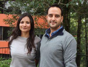 Nataly Morales Rincón y Eduardo Morteo Ortiz.