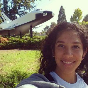 La joven tiene 21 años y nació en la ciudad y puerto de Veracruz.