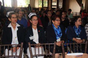 Asistentes al IV Congreso Nacional de Estudiantes de Posgrado en Enfermería, organizado por la UV