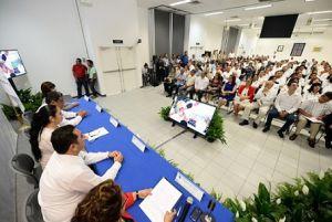 El Consejo Universitario Regional (CUR) sesionó con el cien por ciento de consejeros presentes.