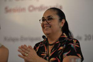 """""""La firmeza no nos ha faltado para exigir lo que nos deben"""": Sara Ladrón de Guevara"""